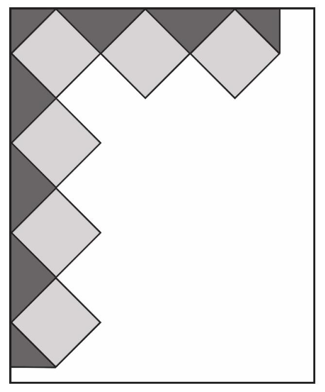 Oblicz maksymalną długość boku jednego kwadratu…