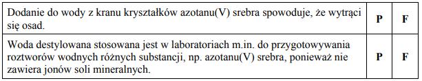 Dwaj uczniowie otrzymali zadanie sporządzenia roztworu wodnego azotanu(V) srebra.